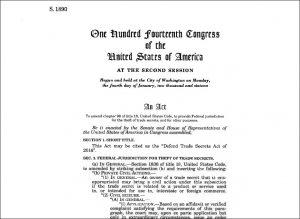 Defend the Trade Secrets Act